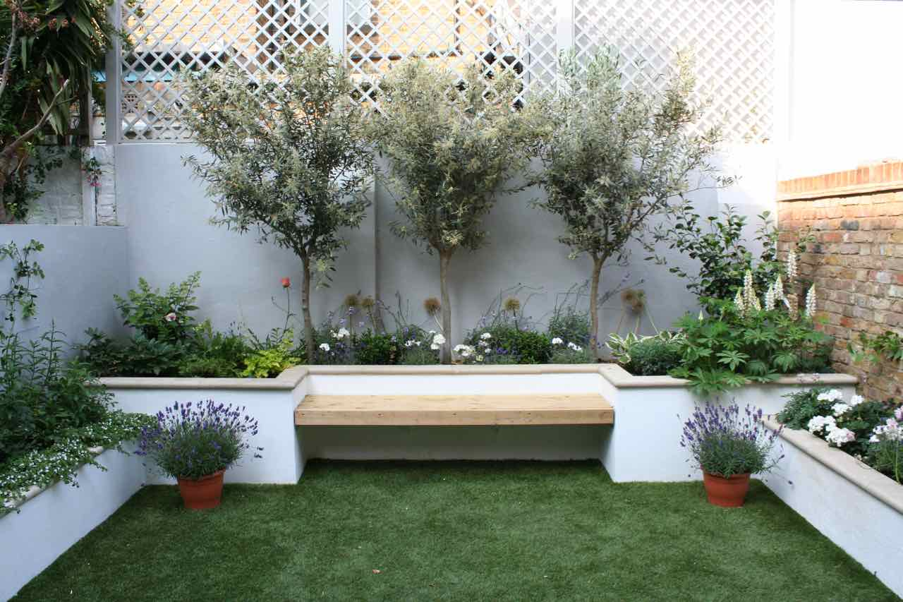 A transformed urban garden in Fulham